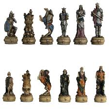 fantasy and mythology chess sets and pieces