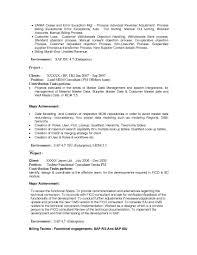 sap bi resume sample sap bw resume resume for your job application business objects developer resume professional business objects