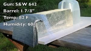 clear ballistics gel federal hydra shok low recoil 38 special