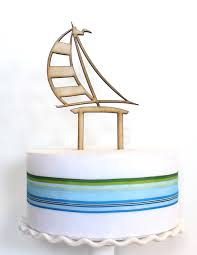 sailboat cake topper sailboat cake topper