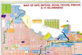Islamabad Map 30 60 House New E 11 1 U2013 Fkb Associates Pvt Ltd