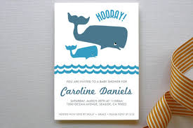 whale baby shower invitations big whale whale baby shower my practical baby shower guide