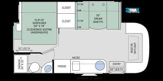 compass ruv class c motorhomes floor plans thor motor coach 25 class c motorhomes
