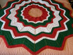crochet pattern for tree skirt rainforest islands ferry