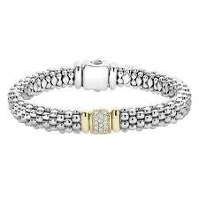 silver bracelet with diamond images Diamond beaded bracelet diamonds caviar lagos jewelry jpg