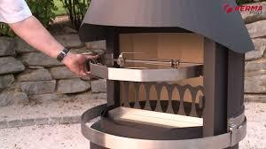 hermapro gartenkamine eine ideale kombination aus grill