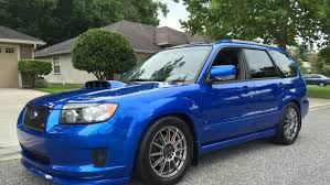 blue subaru forester here u0027s why this forester xt is the subaru of your dreams drivetribe