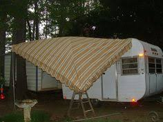 Vintage Travel Trailer Awnings Easy Up Canopy As Vintage Camper Awning From The Person That Came