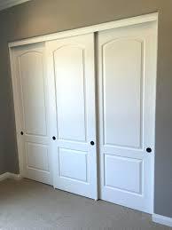 Wood Sliding Closet Door Sliding Closet Doors Hardware Kits In Door Replacement House