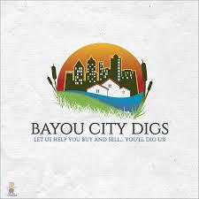 Seeking Ekå I Hip Logo For Bayou City Digs Realtor Designers Choose Real Estate