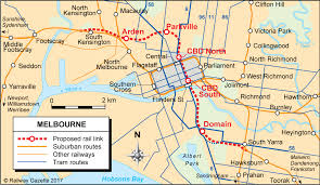 melbourne tram map tram changes to aid melbourne metro construction metro report