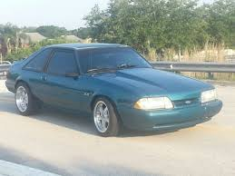 1993 mustang hatchback for sale ford mustang hatchback 1993 blue for sale 1facp41e4pf210723 1993