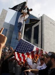 Islam Flag More Violence Erupts Over Anti Muslim Film 4 Dead Dozens Hurt