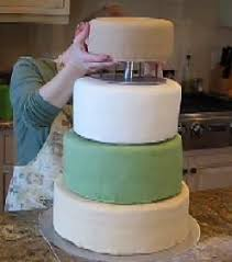 how to make a wedding cake written and video instructions straight