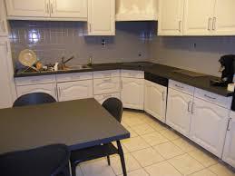 peindre cuisine chene cuisine meuble en photo