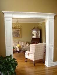 Interior Molding Designs by Stunning Traditional Dining Room Through A Heavily Framed Double
