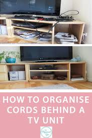 How To Organize Desk by How To Organise Cords Blog Home Organisation The Organised You