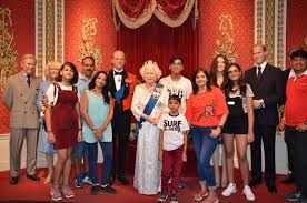 madame tussauds memory with royal family picture of st