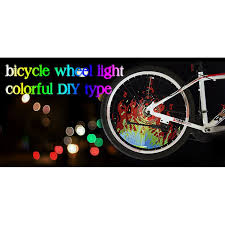 yq8003 bike light software yq8003 bicycle light diy programmable led wheel light waterproof for