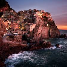 Manarola Italy Map by Interfacelift