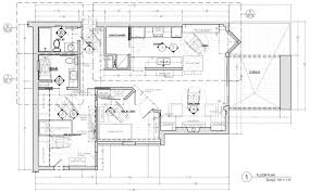 floor plan construction document corey klassen interior design