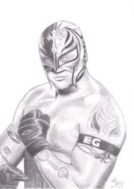 rey mysterio by cai hong on deviantart