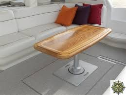 boat tables for cockpit mariners woodshop cockpit tables salon tables deck tables teak
