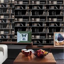 online buy wholesale bookcase wallpaper from china bookcase