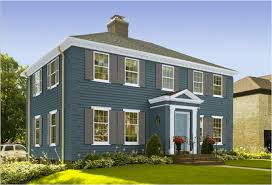 benjamin moore exterior paint color combinations classic colonial