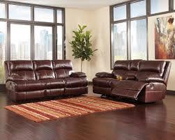 presley cocoa reclining sofa ashley furniture leather reclining sofa west r21 net