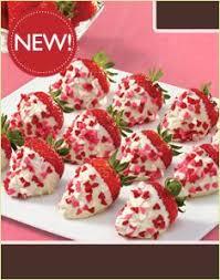 White Chocolate Covered Strawberry Box Confetti Berries White Chocolate Box Desserts That Are Yummy