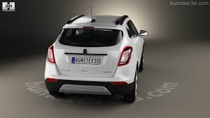 opel mokka trunk 360 view of vauxhall mokka x 2017 3d model hum3d store