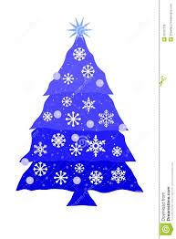 blue christmas tree royalty free stock image image 35167736