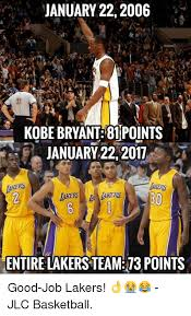 Kobe Bryant Injury Meme - january 22 2006 kobe bryant 81 points january 22 2011 akers entire