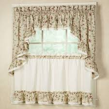 Pictures Of Kitchen Curtains by Kitchen Curtains Tiers And Valance Window Treatments Touch Of Class