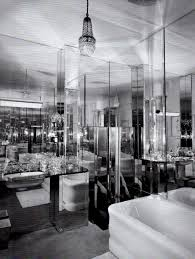Mirrored Bathroom by This Was Labelled Syrie Maugham This Might Be The Most