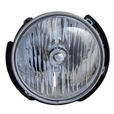 jeep wrangler headlight assembly oe style driver side 2007 2018