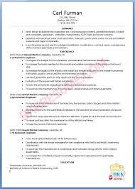 Hotel Housekeeping Resume 28 Resume Sample Marine Engineer Resume Marine Examples