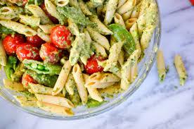 mint pesto pasta salad u2013 a pinch grace