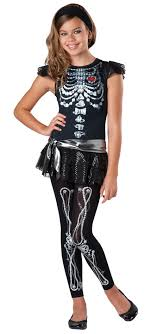 girl costumes skeleton bling costume candy apple costumes
