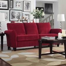 Maroon Living Room Furniture - red sofas couches u0026 loveseats shop the best deals for nov 2017