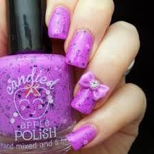 let u0027s begin nails candied apple polish swatch and review