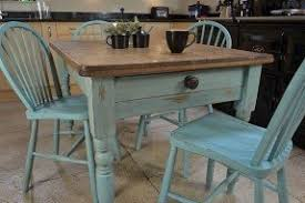 Shabby Chic Dining Table Set Dining Table With Four Chairs Foter