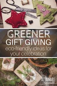 fun and fabulous eco friendly gift ideas for the holidays