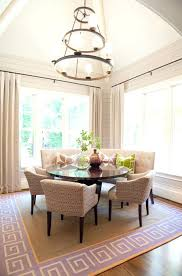 banquette with round table banquette dining room custom curved banquette dining room neutral
