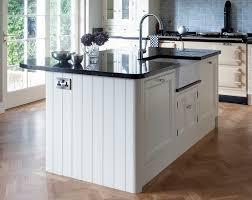 Island Designs  OConnor Kitchens - Kitchen with belfast sink