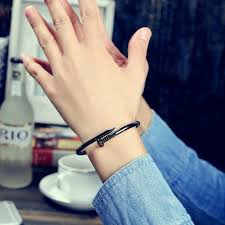 men bracelet style images Zylan unique nail creative design women men bracelet bangle finger jpg