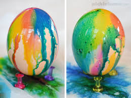 how to color easter eggs super easy drip dyed easter eggs picklebums