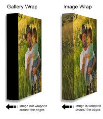 Canvas Without Frame Image Wrap Or Solid Sides Ez Canvas