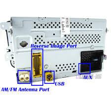 oe rcd510 car radio mp3 usb rear image for vw jetta golf mk5 6